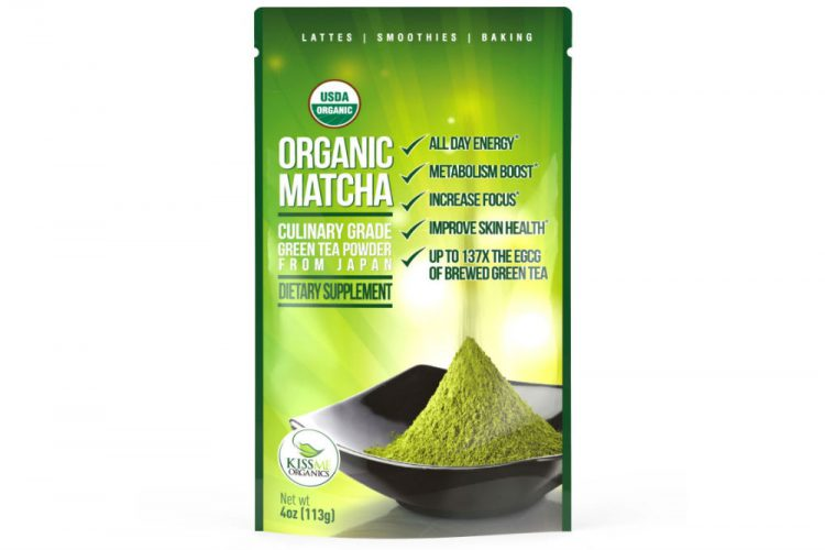 The Coffee Replacement? Kiss Me Organics Matcha Green Tea Powder Review